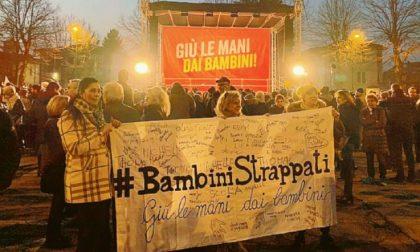 Bibbiano: anche una nonna di Rovigo al comizio di Salvini