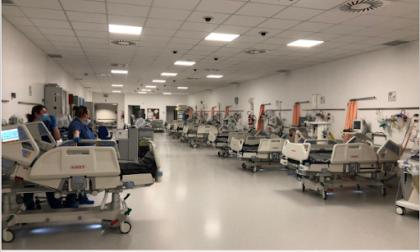 Schiavonia: si amplia il centro terapia intensiva del Covid hospital padovano