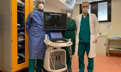 Eurovo regala un ecografo all'ospedale di Trecenta