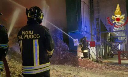 Montebello, incendio nell'impianto smaltimento rifiuti: oggi i risultati dell'Arpav