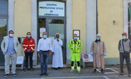 La comunità islamica di Lendinara al fianco della Protezione Civile
