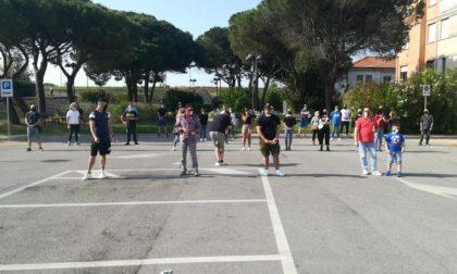 Porto Tolle: il Movimento delle mascherine tricolori tornano in piazza