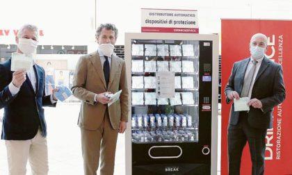 Rovigo, arriva il distributore automatico di mascherine