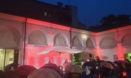 La pioggia non rovina la ripresa delle attività teatrali a Rovigo
