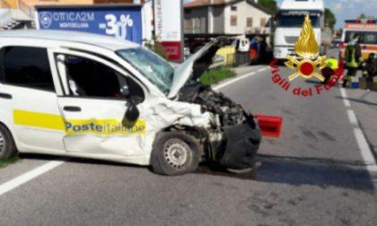 Frontale tra Porsche e Panda delle Poste a Montebelluna: Evelina non ce l'ha fatta
