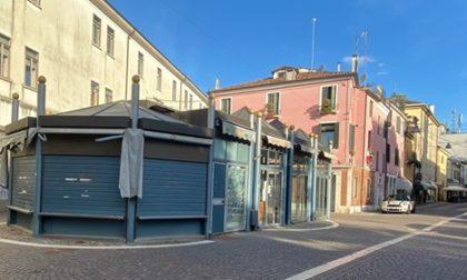 Rovigo, addio al chiosco di Piazza Merlin