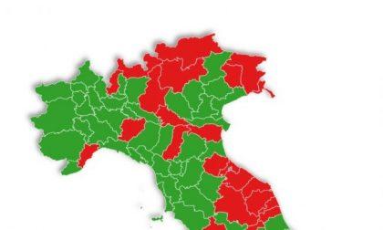 E se le zone fossero per provincia? Rovigo e tutto il Veneto sarebbero verdi