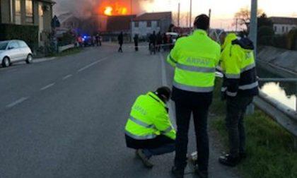 Incendio al calzaturificio a Fratta Polesine: esclusi problemi ambientali