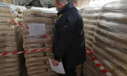 Sequestrate 120 tonnellate di pellet e denunciate quattro persone per frode