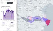 Altro che zona rossa: in provincia di Rovigo movimenti su del 116% rispetto al 2020