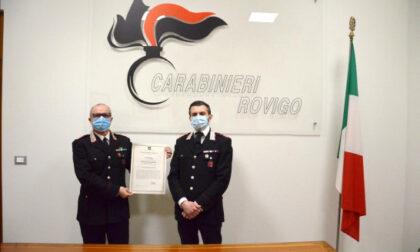 """Al Comandante della Stazione Carabinieri il """"Premio Legalità e Sicurezza"""""""