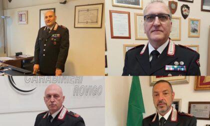 Due avvicendamenti di Comandanti di Stazione nel Comando dei Carabinieri di Rovigo