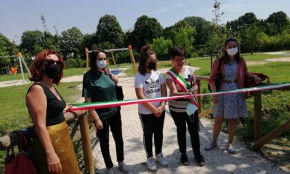 Inaugurato il parco in Tassina, un ettaro di verde a disposizione della città