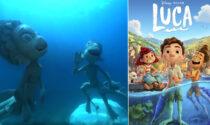 """Due statue nel mare delle Cinque Terre per il film Disney """"italiano"""""""