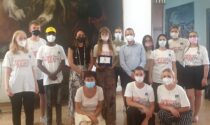 A palazzo Nodari i ragazzi del campo di volontariato internazionale di Legambiente