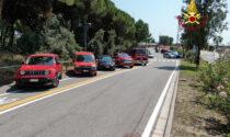 E' attivo il distaccamento temporaneo dei Vigili del fuoco di Rosolina Mare