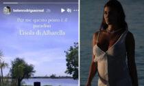 Belén Rodriguez incinta è innamorata di... Albarella