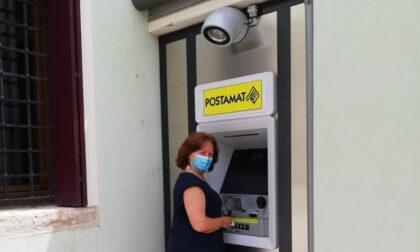 Inaugurato il primo sportello automatico ATM Postamat dell'Ufficio Postale di Villamarzana