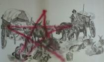 Devastata la casa di campagna di Ivan Dall'Ara: sul muro tre stelle delle Brigate Rosse