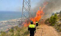 Incendi in Sicilia, foto e video dei volontari della Protezione civile del Veneto in aiuto
