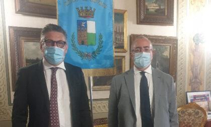 Il sindaco Edoardo Gaffeo ha ricevuto il nuovo prefetto Clemente Di Nuzzo