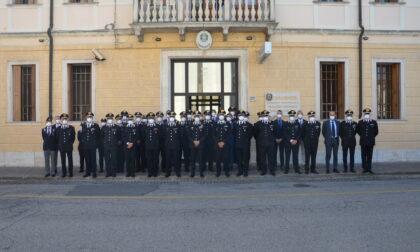 Generale di Brigata Giuseppe Spina in visita al Comando Provinciale Carabinieri di Rovigo