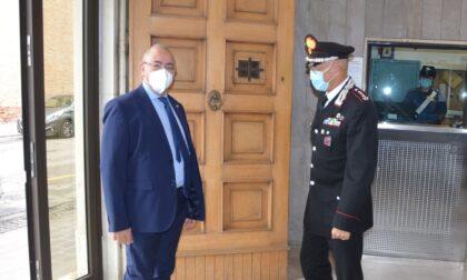 Prefetto Clemente Di Nuzzo in visita al Comando Provinciale Carabinieri di Rovigo